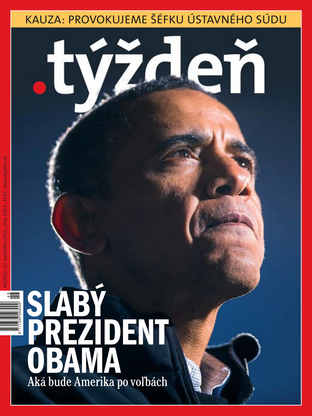 In the landlocked Central European country of Slovakia, the news magazine .týždeň is making its photographic voice heard loud and clear.