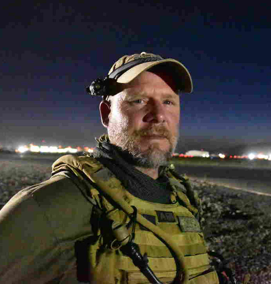 Photojournalist David Gilkey, seen in Kandahar