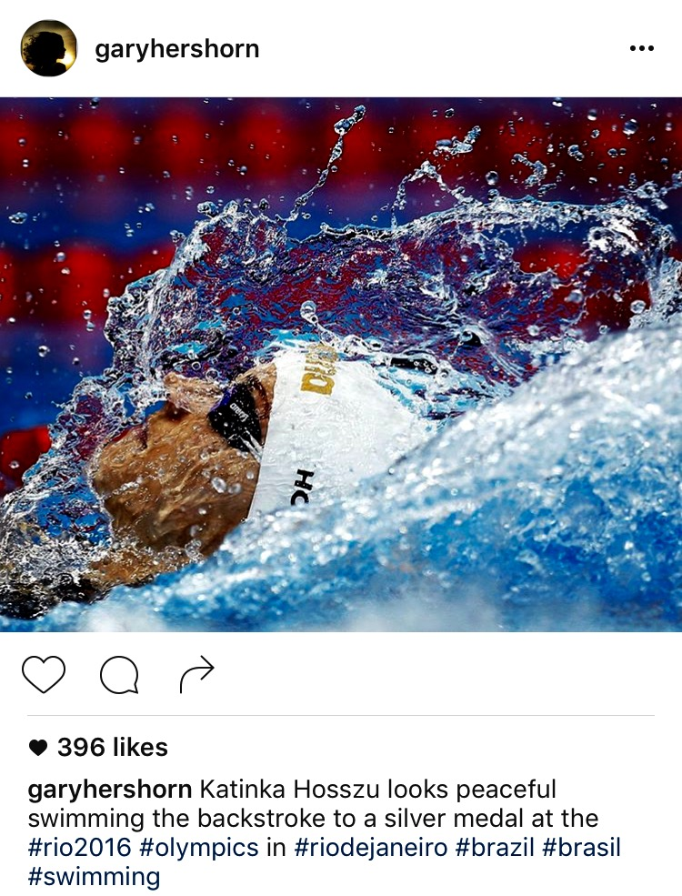 The Instagram of professional sports photographer Gary Hershorn, formerly of Reuters now based in New York City.