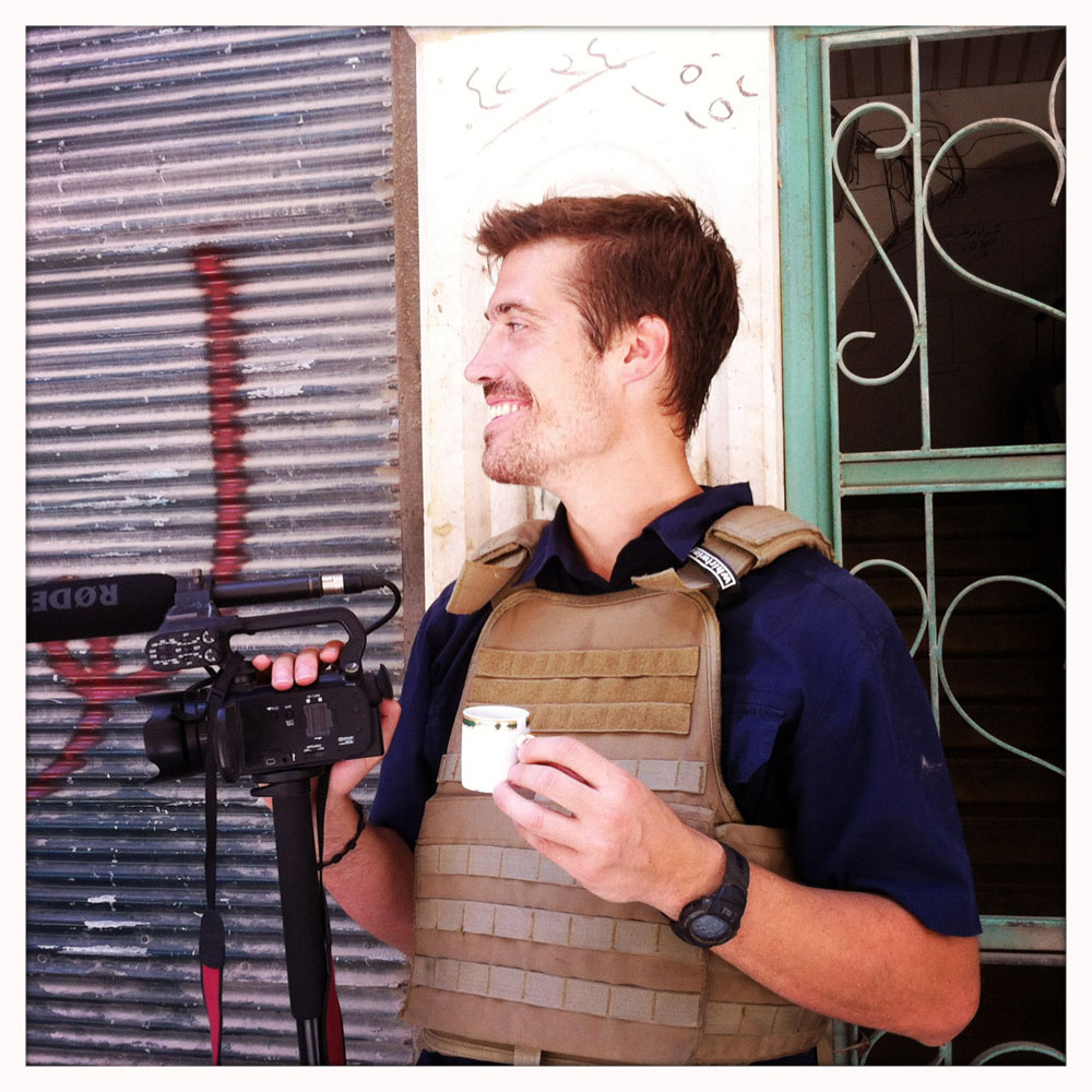 James Foley. Photograph by Nicole Tung