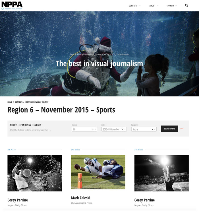 NPPA has launched a new Monthly National Clip Contest and competitions Web site online at http://competitions.nppa.org.