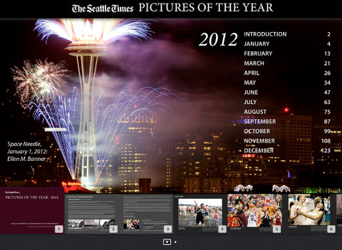 Seattle Times iBook for iPad