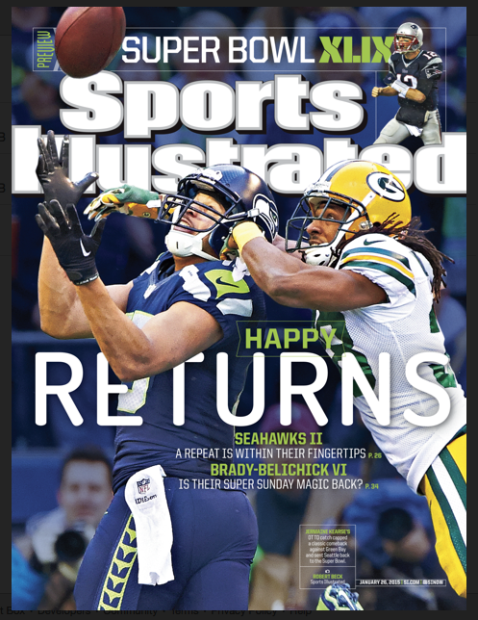 This week's issue of Sports Illustrated magazine