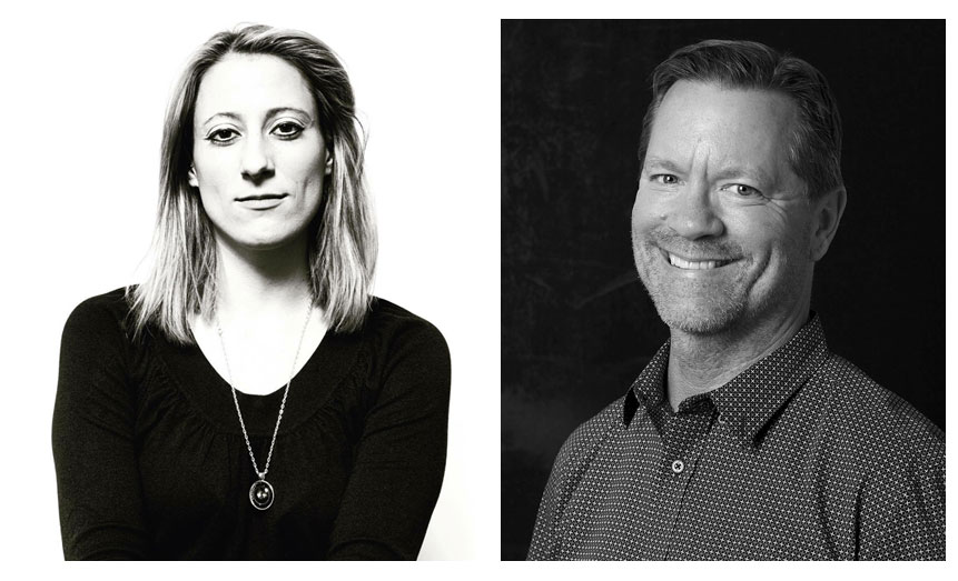 Visual journalists Chelsea Matiash and Brad Smith were appointed to the board of directors of the National Press Photographers Association today by NPPA's new president, Melissa Lyttle