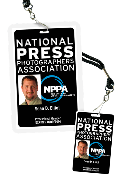 Photographer Press Pass Template Member photo id nppa idFOXZyO