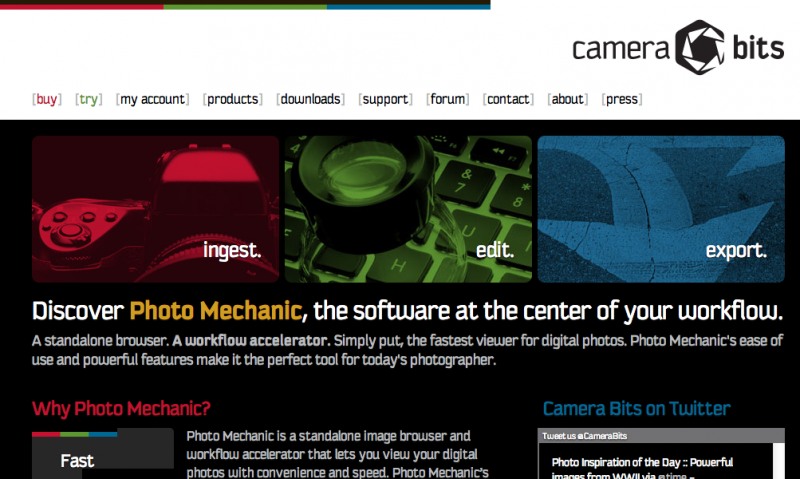 Camera Bits Home Page