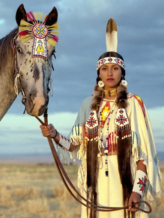"The feelings of Native Americans for their horses, their historic companions, are simple: ""It's true love, that's it."" Photograph by Erika Larsen for National Geographic"