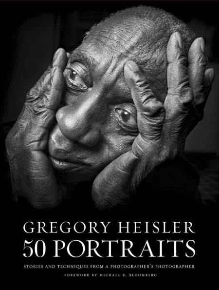 The cover of Gregory Heisler's new book, 50 Portraits.