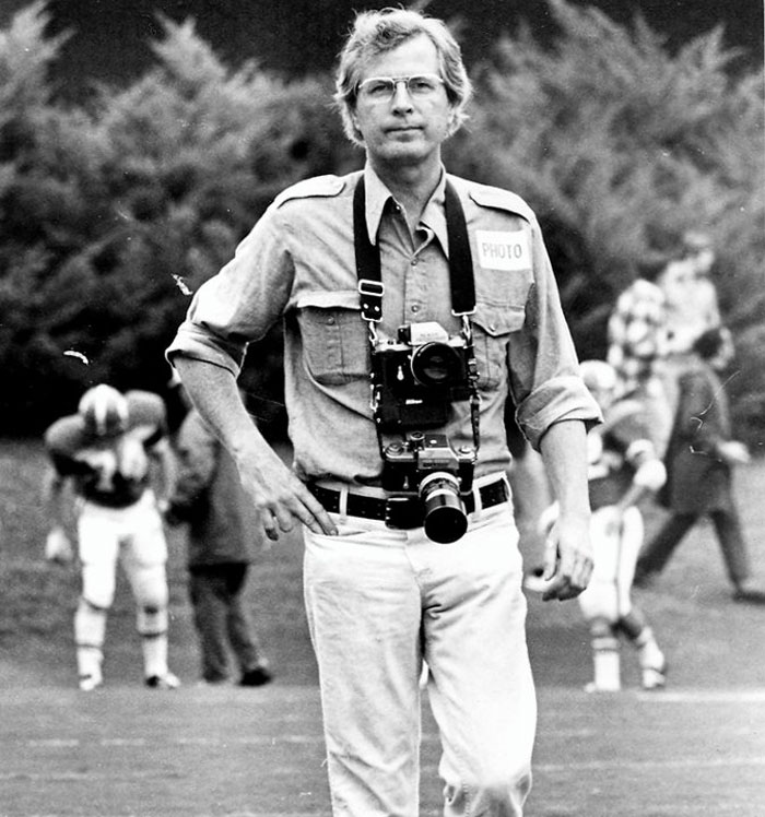 File photograph of photojournalist Ken Cooke