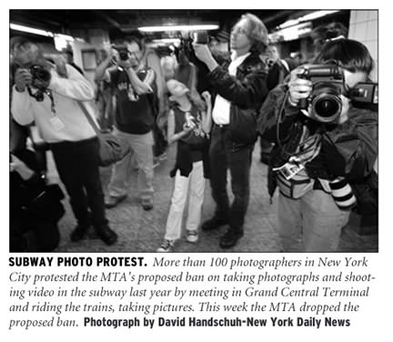 Last Summer, NPPA Member Photojournalists Took Part In A Protest In The  Subway By Shooting Photographs Of Each Other Alongside Members Of The New  York ...