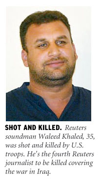 Waleed Khaled shot and killed