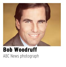 Bob Woodruff in ABC News photo