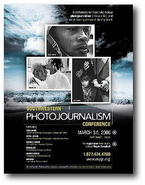 Southwestern Photojournalism Conference poster