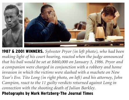 Past winning photos by Mark Hertzberg