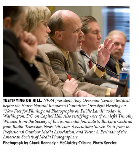 Tony Overman testifies on Capitol Hill