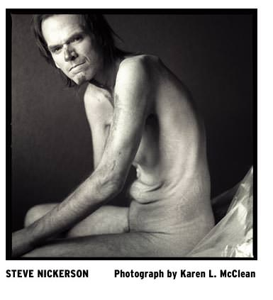 Steven R. Nickerson in 2006 in a photograph by his wife, photographer Karen McClean.