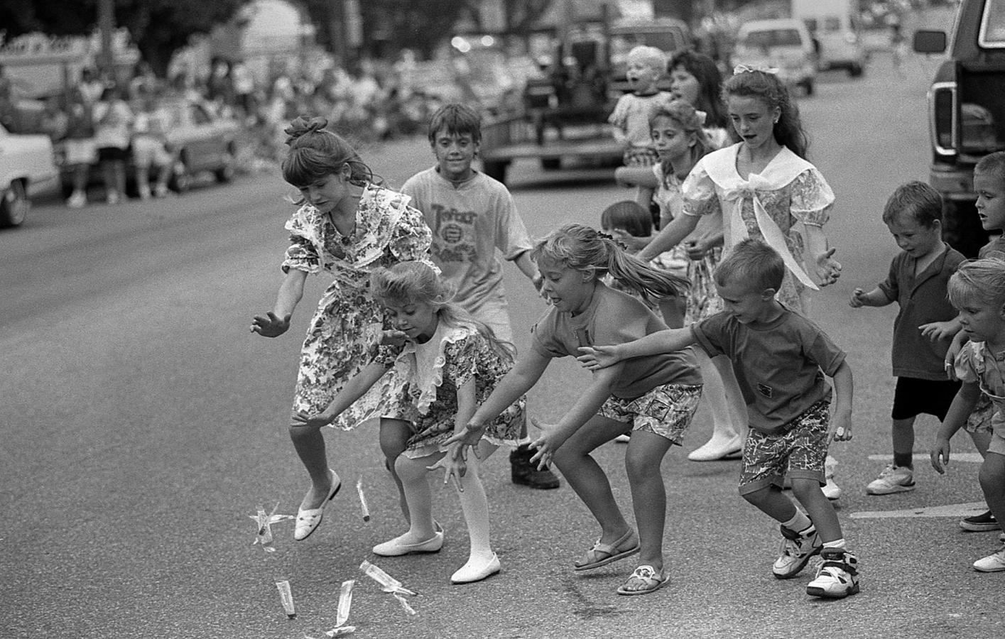 Corydon Halloween Parade 2020 My early career is on full display in black and white | NPPA