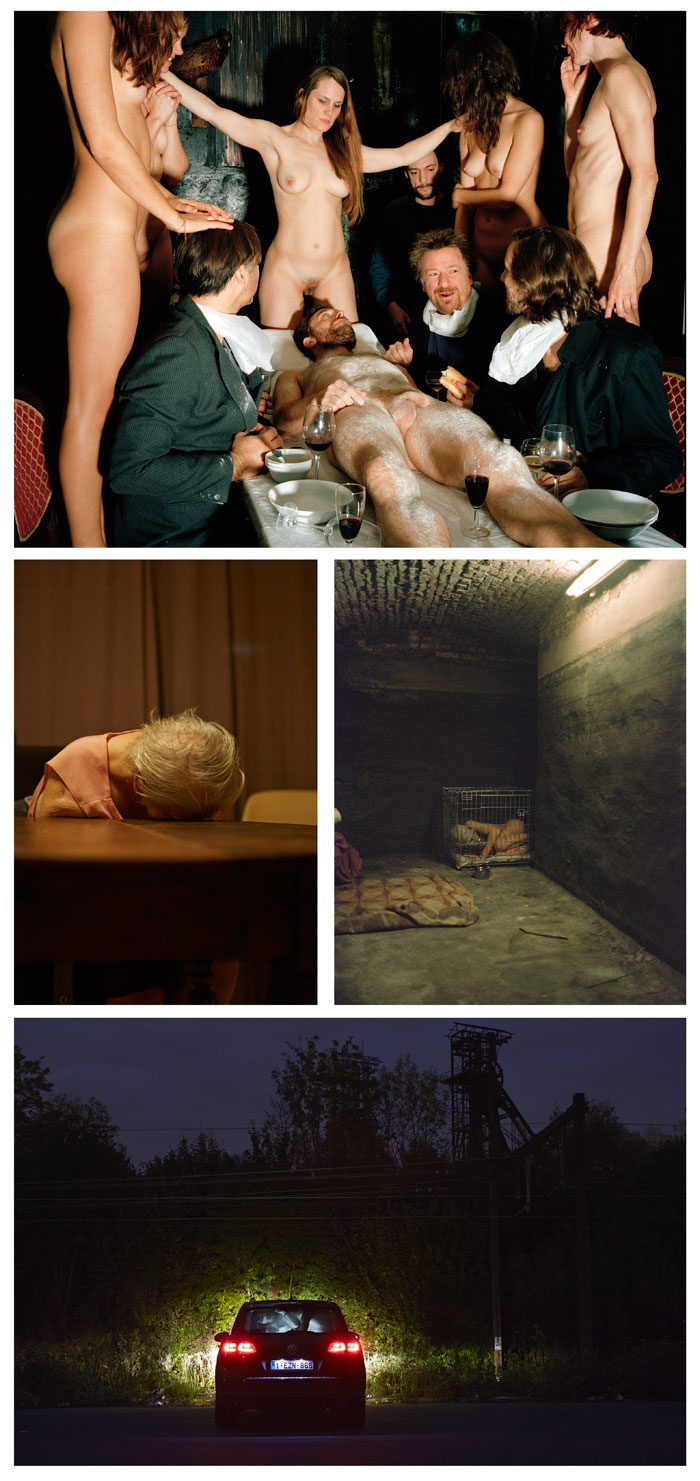 "Four of the photographs from Giovanni Troilo's ""The Dark Heart Of Europe"" which was at first awarded a First Place honor in World Press Photo, and then later revoked."
