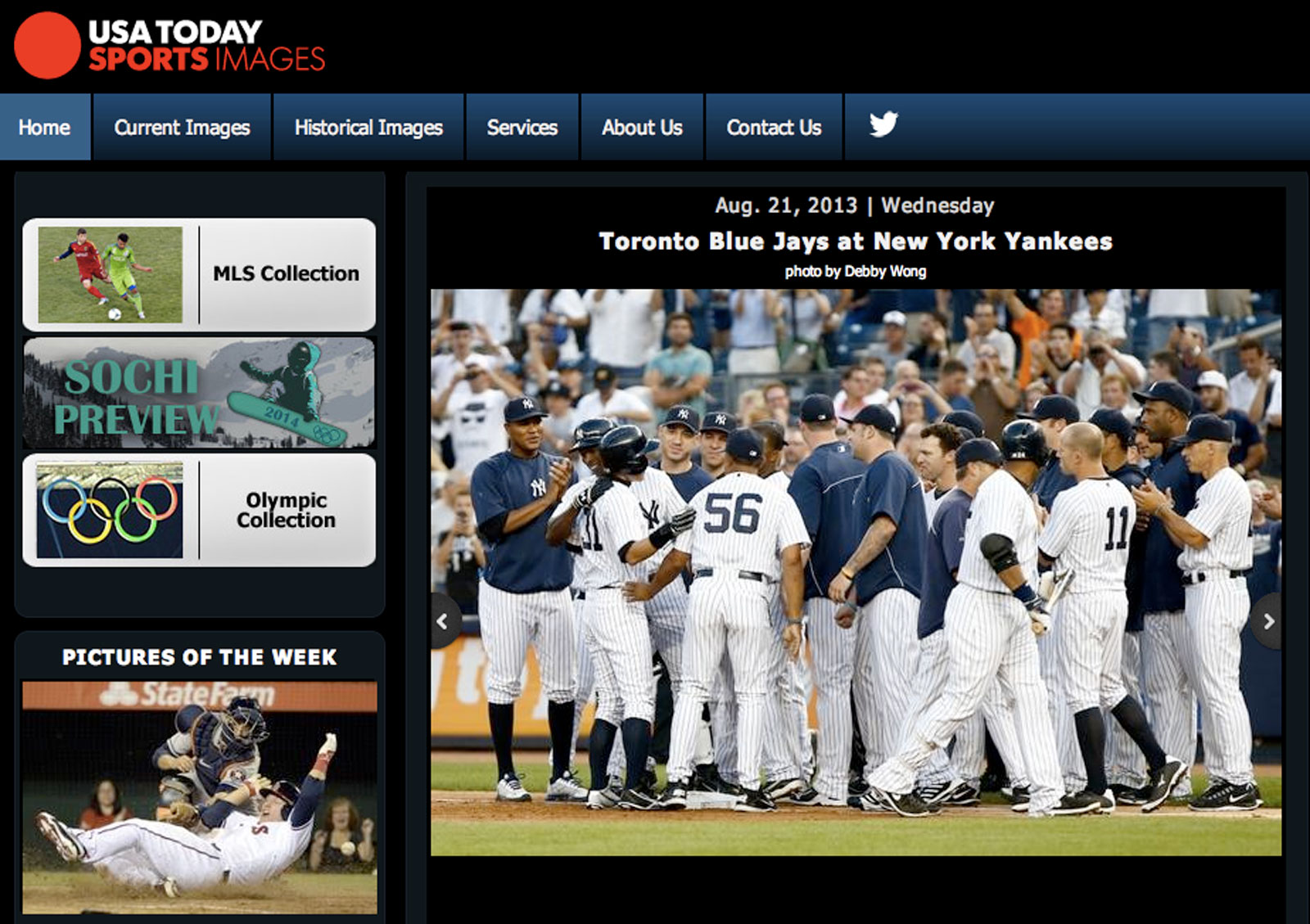 The USA Today Sports Images Web site.